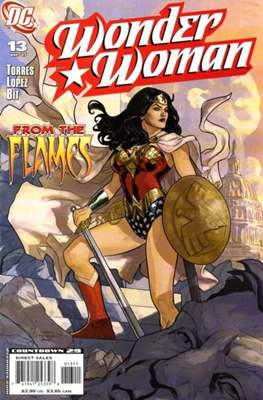 Wonder Woman Vol. 3 (2006-2011) (Comic Book) #13
