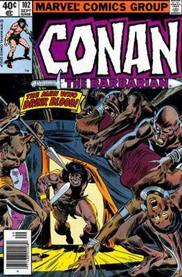 Conan The Barbarian (1970-1993) (Comic Book 32 pp) #102