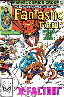 Fantastic Four Vol. 1 (1961-1996) (saddle-stitched) #250