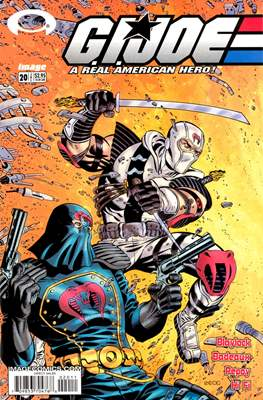 G.I.Joe: A Real American Hero (Comic-book. 24 pp) #20
