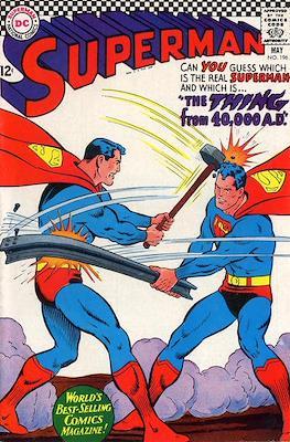 Superman Vol. 1 / Adventures of Superman Vol. 1 (1939-2011) (Comic Book) #196