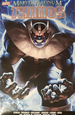 Marvel Platinum The Definitive Thanos
