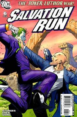 Salvation Run (Grapa) #6