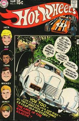 Hot Wheels (Comic Book) #5