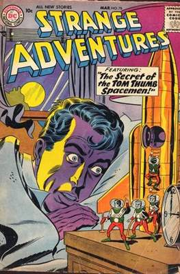 Strange Adventures (Comic Book) #78