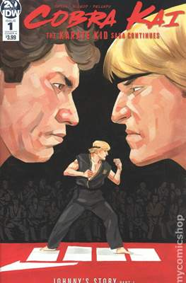 Cobra Kai. The Karate Kid Saga Continues (Comic Book) #1