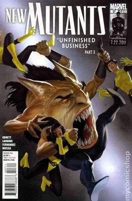 New Mutants Vol. 3 (Comic Book) #27