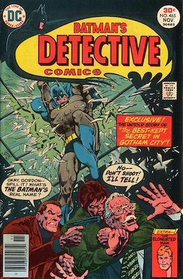 Detective Comics Vol. 1 (1937-2011; 2016-) (Comic Book) #465