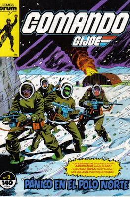 Comando G.I.Joe (Grapa. 19x27. 32 páginas. Color.) #2