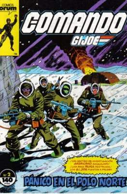 Comando G.I.Joe (Grapa 32 pp) #2