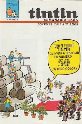 Tintin (Grapa 20 pags.) #50