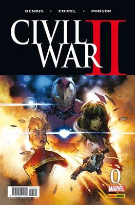 Civil War II (2016-2017) (Grapa. Color) #0