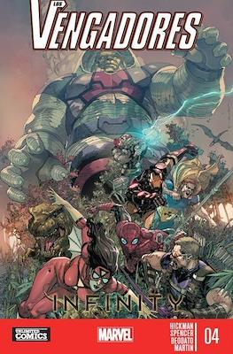 Los Vengadores: Infinity (Rústica) #4