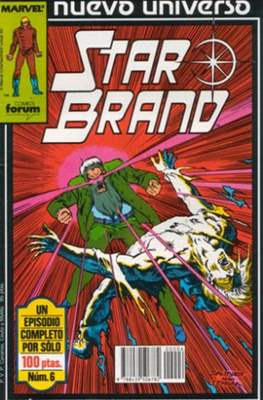 Star Brand (1988-1989) (Grapa. 17x26. 24 páginas. Color.) #6