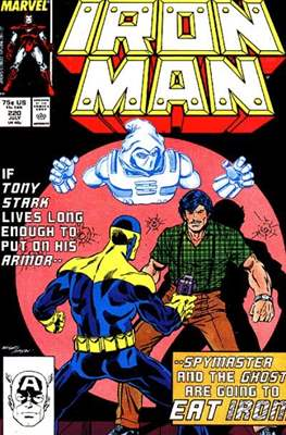 Iron Man Vol. 1 (1968-1996) (Comic book) #220