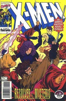X-Men Vol. 1 (1992-1995) (Grapa 32 pp) #21