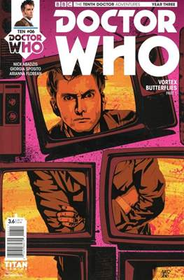 Doctor Who: The Tenth Doctor Adventures Year Three (Comic Book) #6