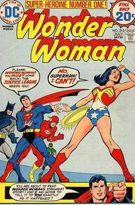 Wonder Woman Vol. 1 (1942-1986; 2020-) (Comic Book) #212