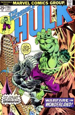 The Incredible Hulk Vol. 1 (1962-1999) (Comic Book) #195