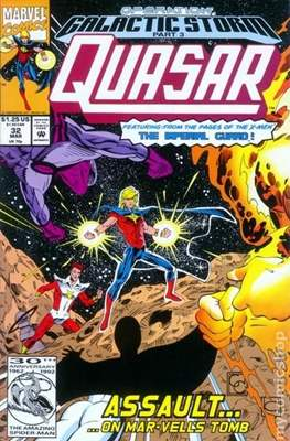 Quasar Vol. 1 (1989-1994) (Comic.Book) #32