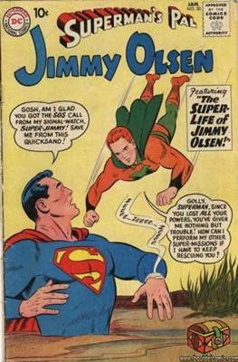 Superman's Pal, Jimmy Olsen / The Superman Family (Comic Book) #50