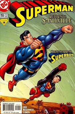 Superman Vol. 2 (1987-2006) (Comic Book) #155