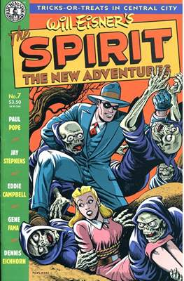 The Spirit. The New Adventures (Comic book. grapa.) #7