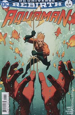Aquaman Vol. 8 (2016-2021) Variant Cover) #7
