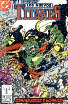 Nuevos Titanes vol. 2 (1989-1992) (Grapa) #8