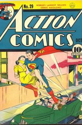 Action Comics Vol. 1 (1938-2011; 2016-) (Comic Book) #29