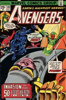 The Avengers Vol. 1 (1963-1996) (Comic Book) #140
