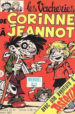 Les Vacheries de Corinne à Jeannot (Broche pocket 132 pp) #1