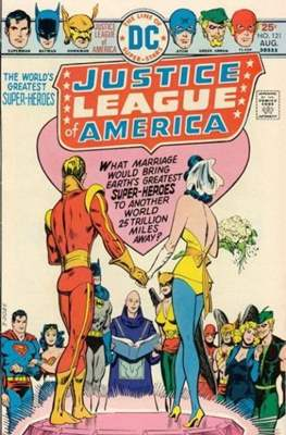 Justice League of America (1960-1987) (Comic-Book) #121