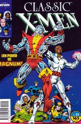 Classic X-Men Vol. 1 (1988-1992) (Grapa 32 pp) #25