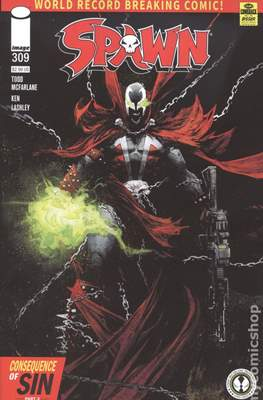 Spawn (Variant Cover) (Comic Book) #309.1