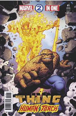 Marvel Two-In-One (2017-... Variant Covers) (Grapa) #1.2
