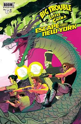 Big Trouble in Little China Escape from New York (Grapa) #6
