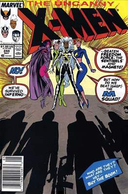 The Uncanny X-Men (1963-2011) (Comic-Book) #244
