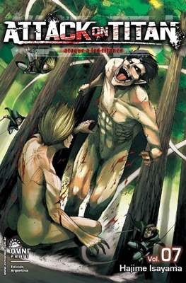 Attack on Titan (Rústica con solapas) #7
