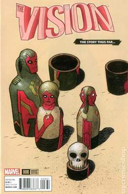 The Vision Vol. 3 (Variant Cover) (Comic Book) #8.1