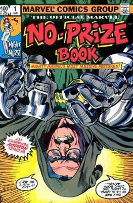 The Official Marvel No-Prize Book