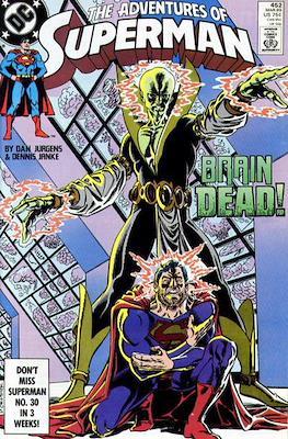 Superman Vol. 1 / Adventures of Superman Vol. 1 (1939-2011) (Comic Book) #452