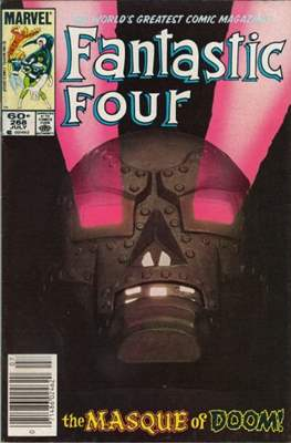 Fantastic Four Vol. 1 (1961-1996) (saddle-stitched) #268