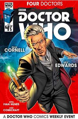 Doctor Who: Four Doctors (Comic Book) #4