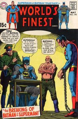 World's Finest Comics (1941-1986) (Comic Book) #193