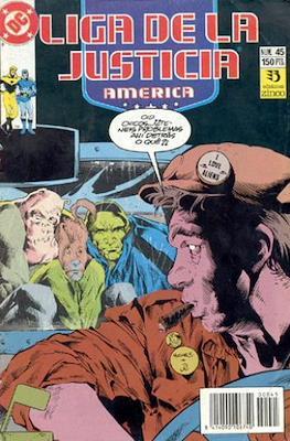 Liga de la Justicia / Liga de la Justicia internacional / Liga de la Justicia de America (1988-1992) (Grapa) #45