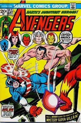 The Avengers Vol. 1 (1963-1996) (Comic Book) #117