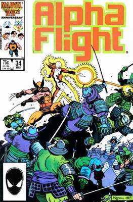 Alpha Flight Vol. 1 (1983-1994) (Comic Book) #34