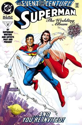 Superman: The Wedding Album (Variant Cover)