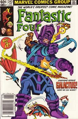 Fantastic Four Vol. 1 (1961-1996) (saddle-stitched) #243